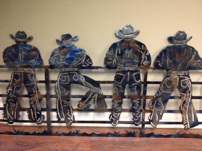 Custom Plasma Cutting And Metal Art From Young's Welding