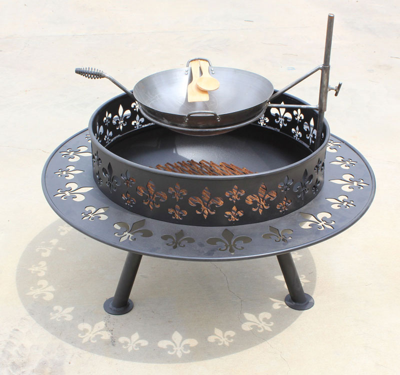 Custom Fire Pit - Custom Built Fire Pits Built By Young's Welding And Fabrication